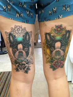 Love the boston tattoos. would get on the side of my thigh though.