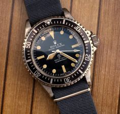 Too Cool for Words. The Vintage Rolex 5513 Military Issue.  Www.bobswatches.com
