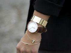 Love the layering.  I need a gold cuff ASAP!