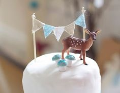 I am clearly going to have to plan a Woodland themed party. Don't really care if they're overdone!