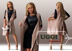 Elegant Woman Cardigan Sleeveless Diving - Autumn Collection #Unbranded #Cardigan
