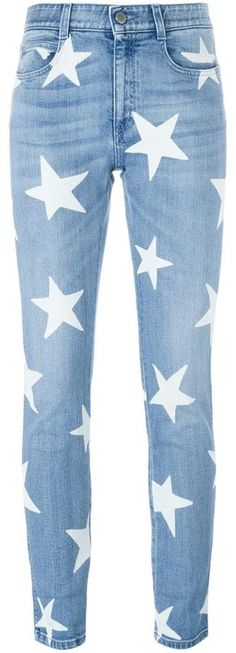 Stella McCartney 'Ankle Glazer Star' jeans are the must have of the spring season! Get them now on ShopStyle