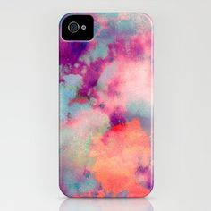 Like a watercolor...  iPhone 4 4S case.
