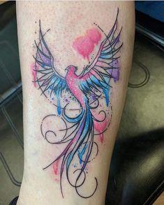 Bird Tattoos For Women, Watercolor Tattoo, Tattoos, Temp Tattoo