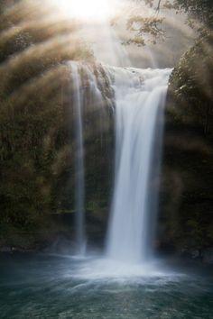 Oh, my goodness! Is this real! Jion Falls, Oita, Japan 慈恩の滝 大分