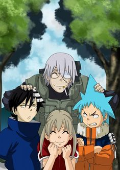 Naruto Soul Eater crossover! Love it, except in my opinion Maka is stronger than…