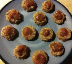 Raw and Wild Persimmon Thumbprint Cookies