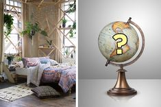 Decorate Your Perfect Bedroom And We'll Tell You Which Continent You Should Move To Fun Quizzes, Random Quizzes, Girls Bedroom, Bedroom Decor, House Quiz, Interesting Quizzes, When Im Bored, Personality Quizzes, Continents