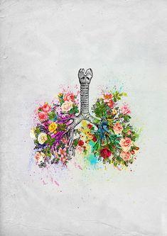Khaled Ibrahim: Photo An EE student loves Art Universe Kunst Inspo, Art Inspo, Art Sketches, Art Drawings, Human Anatomy Art, Skeleton Art, Medical Art, Tumblr Wallpaper, Heart Art