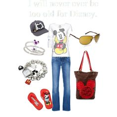 Never to old for Disney, created by prettycoloradomama on Polyvore
