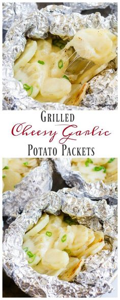 You're gonna love these individual potato packets loaded with roasted garlic and…
