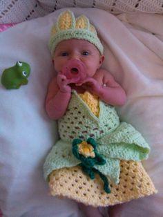 Crochet baby Tiana
