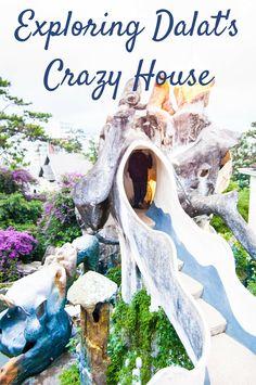 Global Gal Sarah, Exploring Dalat's Crazy House