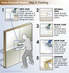 "HowStuffWorks ""DIY Drywall Installation""                                                                                                                                                      More"