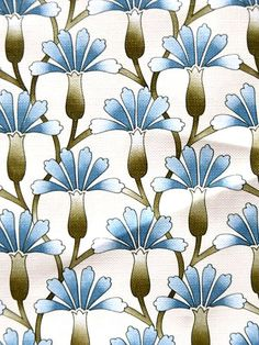Vintage French 1940s wallpaper