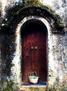 Lovely wooden door