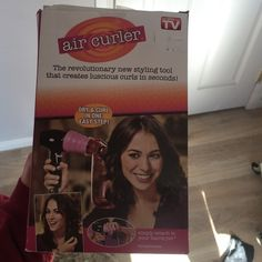 air curler never used still in box! as seen on tv Other