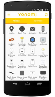 Yonomi Brings Cool Home Electronics Together Under One App