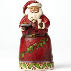 Pint Sized Santa with Cookies ~ UPC: 045544805599