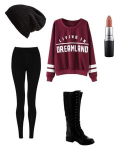 """""""Living in a dreamland"""" by ella-marshall09 ❤ liked on Polyvore featuring M&S Collection, Nature Breeze, Free People, MAC Cosmetics, women's clothing, women's fashion, women, female, woman and misses"""