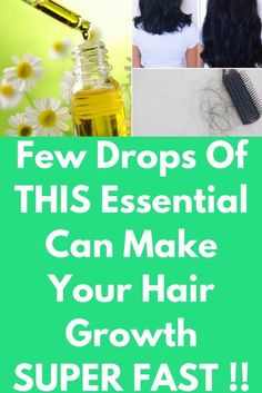 Few Drops Of THIS Essential Can Make Your Hair Growth SUPER FAST !! Best essential oils for hair growth Beautiful long, thick and shiny hair is something which is probably the dream of every girl. Many of them are facing the problem of hair loss at a very early age. The reason behind his could be anything like stress, frequent use of ironing machine or use of chemical …