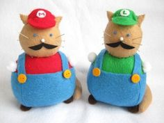 10 Nerdy Cat Images Round 1 #SuperMario