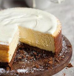 The classic cheesecake