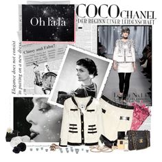 """""""Oh lala!: CoCo Chanel"""" by theacademic on Polyvore"""