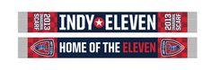 Indy Eleven Inaugural Scarf - Pre-Order | Indy Eleven