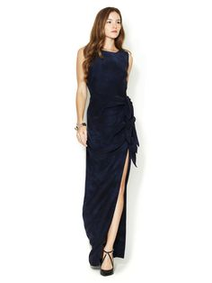 Knotty Silk Maxi Dress by Gryphon on Gilt.com