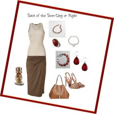 Toast of the Town-Day or NIght, created by kdrutter.polyvore.com