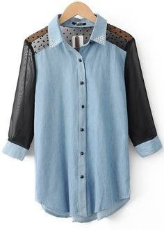 .interesting idea for upcycling men's shirt