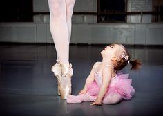 mini ballerina. so cute.