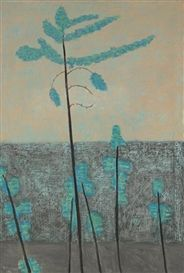 Artwork by Milton Avery, Pines, Made of oil on canvas