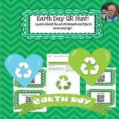 Earth Day QR Hunt!