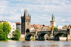 """Visit Prague the """"Golden City"""" on the Vltava river. Discover grand buildings, the city centre and the cultural flair of the beautiful city Guided Tours, Day Trips & Concerts l VIENNA SIGHTSEEING Day Trips From Vienna, Prague Guide, Vienna State Opera, Visit Prague, Free Hotel, Bus Travel, Day Tours, Walking Tour, Trip Advisor"""