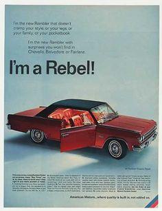 AMC American Motors Rambler Classic Rebel (1966)