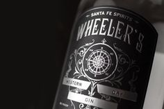 Wheeler's Western Dry Gin on Packaging of the World - Creative Package Design Gallery