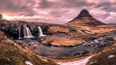 Sunset in Kirkjufell - Iceland - Travel photography by pixael More Pictures, Most Beautiful Pictures, Tourist Attractions Near Me, Landscape Photography, Travel Photography, Iceland Travel, Photos Of The Week, Beautiful Landscapes, Tao
