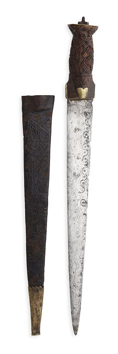 Lot 490 A Scottish Highland dirk overall length Estimate: - 1800 Swords And Daggers, Knives And Swords, Scotland Castles, Beltane, Cold Steel, Kilts, Scottish Highlands, Celtic, Weapons