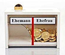 Geldgeschenk Eheleute-Spardose