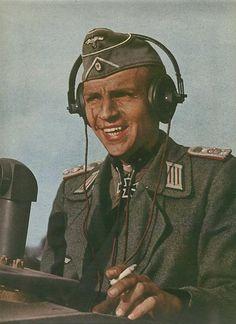 German officer  A german army officer commanding a Sturmgeschütz III Ausf. A (Russia 1942)