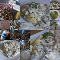 Syrová omáčka so šunkou a šampiňónmi - Mňamky-Recepty.sk