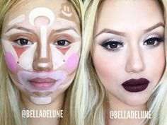 New Make-Up Technique – Clown Contouring ,The Final Result Is Surprisingly Amazing