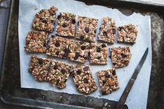 Sweet & Salty Energy Bars (going to make for Jade to enjoy after running!)