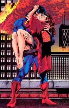 Superman & Lois Lane Post-Death Of Superman