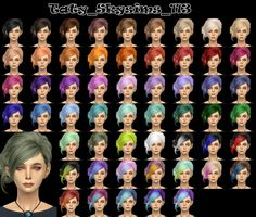the retexture not work if you do not have the original hairOriginal mesh by Skysims: hereDownloadDownload Adfly
