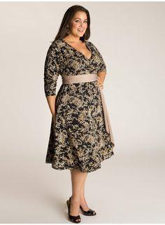 Daphne Wrap Dress in Print