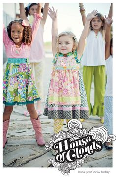 I can't wait to have a trunk show for Matilda Jane!  LOOK how amazing the new spring collection is :-)