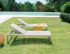 Argento Sunbed - Lavita Furniture